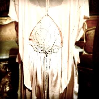 Vintageklänning, 20-tal, Downton Abbey, Hallwylska