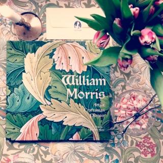 William Morris, Morristapet, Golden Lily, tulpaner, vintage, vintageprylar